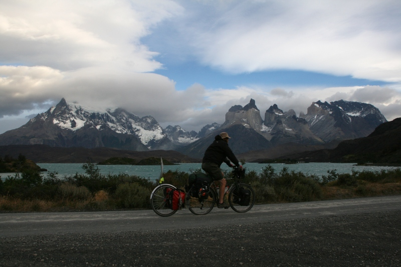 Cycling in Torres del Paine
