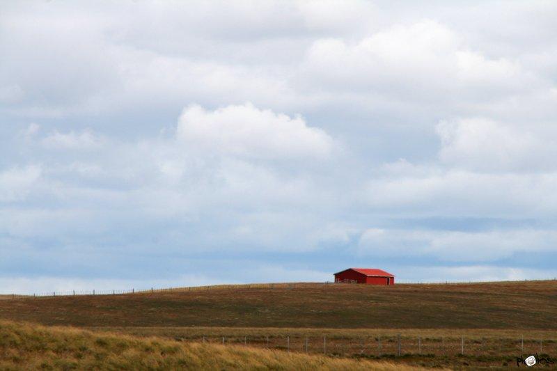 Barn on Tierra del Feugo