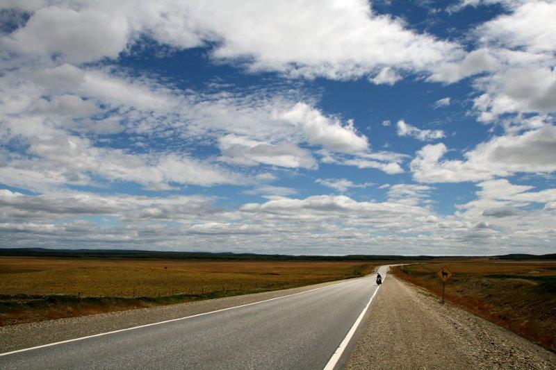 Riding toward Rio Grande