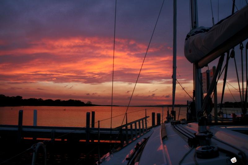 night on board
