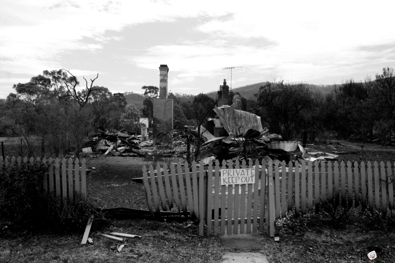 Tasmanian Bush fires 2013