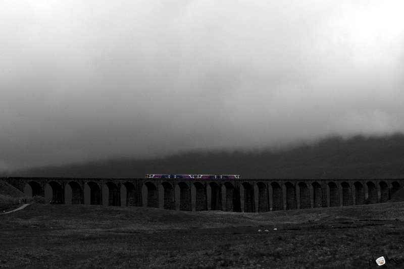 low clouds at Ripplehead viaduct