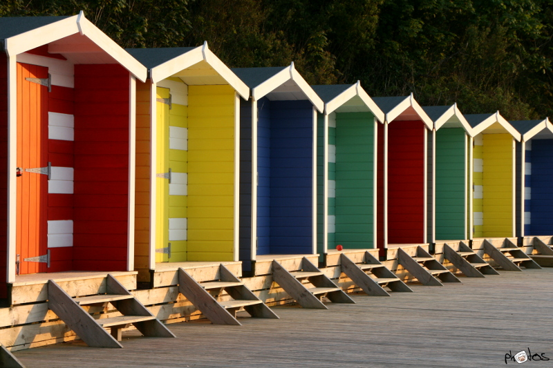 beach hut IoW