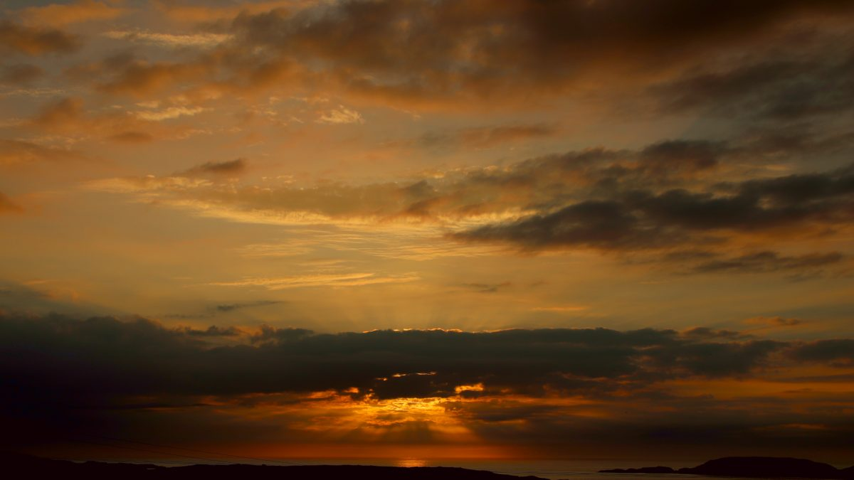 Uig Bay Sunset