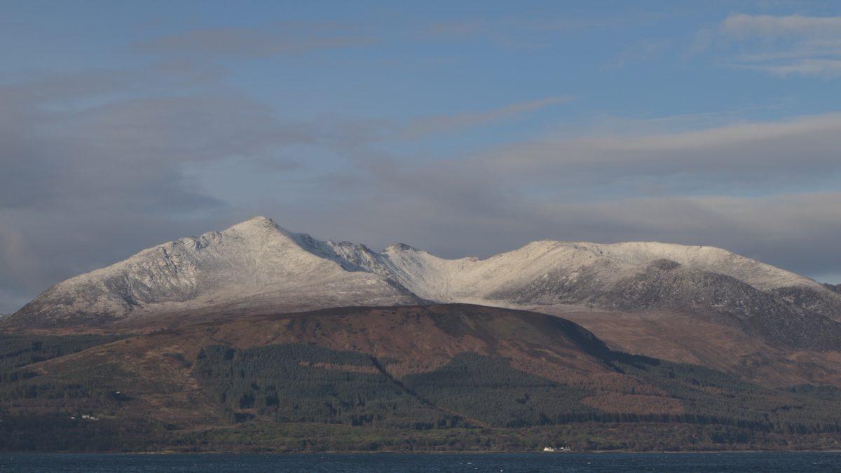 Goatfell Isle of Arran
